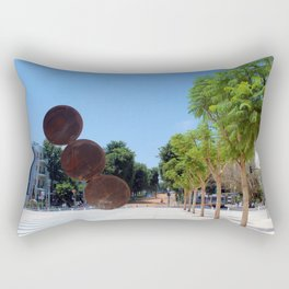 Tel Aviv photo - Habima Square - Israel Rectangular Pillow