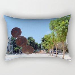 Tel Aviv photo - Habima Square - Israel Rectangular Pillow