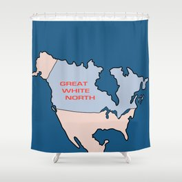 Great White North Shower Curtain