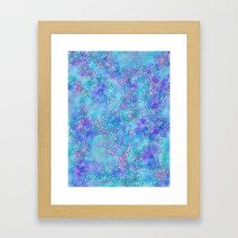Winter blossum Framed Art Print