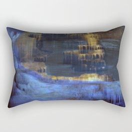 Cave 03 / The Interior Lake / wonderful world 10-11-16 Rectangular Pillow