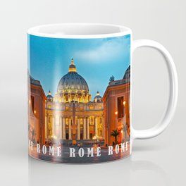 SAINT PETER'S CATHEDRALE in ROME Coffee Mug