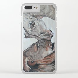 Cecil the Lion Clear iPhone Case
