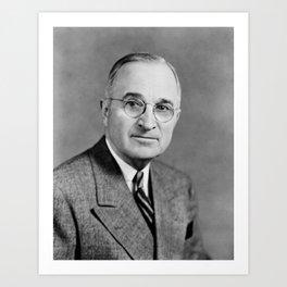 Harry Truman - 33rd President of the United States Art Print