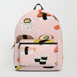 Sushi Noms Print Backpack