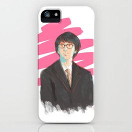 Harry in Suit iPhone Case