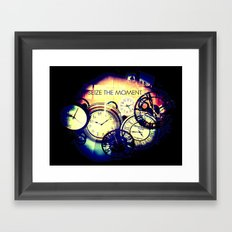 Seize the Moment Framed Art Print