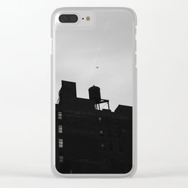 Chelsea Architecture III Clear iPhone Case