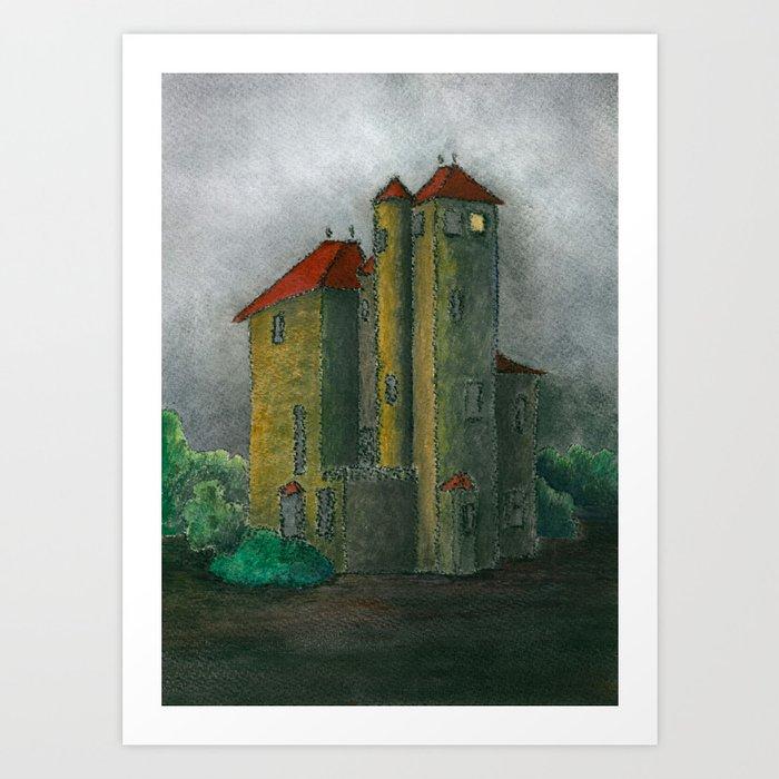 Camprubi house Art Print