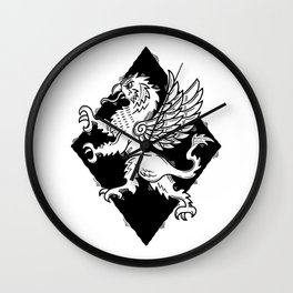 gryphon armory Wall Clock