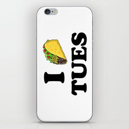 I taco tuesday iPhone Skin