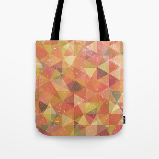 Triangle Pattern III Tote Bag