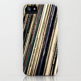 A Shelf of Vinyl iPhone Case