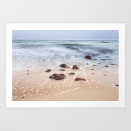 By the Shore - Landscape and Nature Photography Art Print