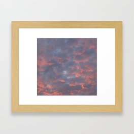 Sunset Framed Art Print