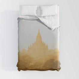 Bagan Temples II Duvet Cover