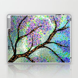 Lavender Branch Laptop & iPad Skin