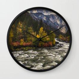 The Leavenworth Bend Wall Clock