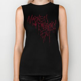 Madness Emergency Exit Biker Tank
