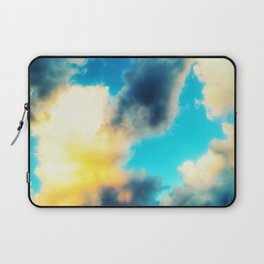 Pale Clouds Laptop Sleeve