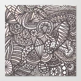 Doodle 10 Canvas Print