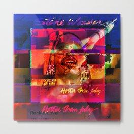 Very Super Stevie Metal Print