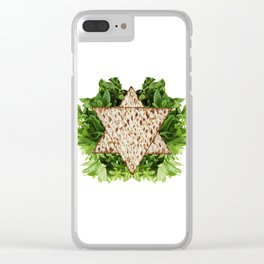 Glyph of Easter Clear iPhone Case