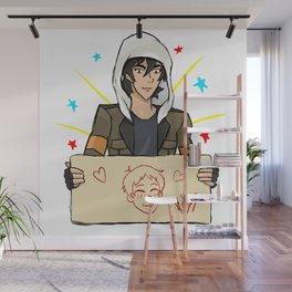 Klance, Keith draws Lance Wall Mural