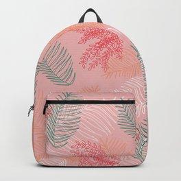 Tropical Jungle - Pink Backpack