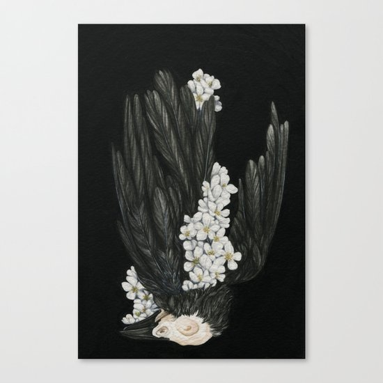 From Darkness Canvas Print