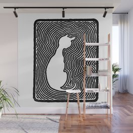 Cat eco. Wall Mural
