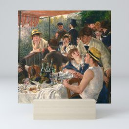 "Auguste Renoir ""Luncheon of the Boating Party"" Mini Art Print"