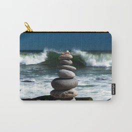 Parting the Waves Carry-All Pouch
