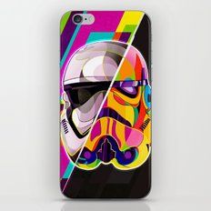 Pop-Art Stormtrooper StarWars - Abstract Artwork iPhone & iPod Skin