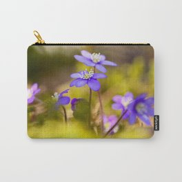 Wildflowers Spring Forest #decor #society6 #buyart Carry-All Pouch