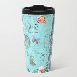 Paris - my blue love Travel Mug