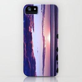 Coastal Sunset Sainte-Anne-Des-Monts iPhone Case