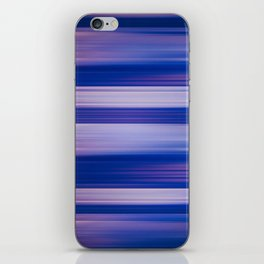 Abstract background blur motion hot pursuit violet iPhone Skin