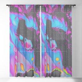 Apex Predators Sheer Curtain