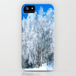 Winter lace iPhone Case