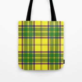 Checkered style Tote Bag