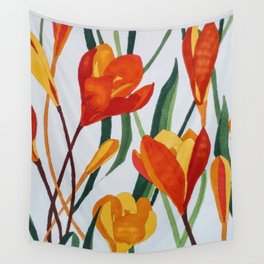 Tulips Wall Tapestry