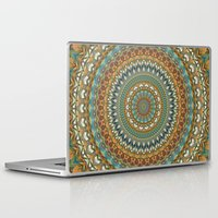 the 100 Laptop & iPad Skins featuring Mandala 100 by Patterns of Life
