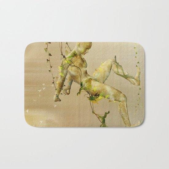 The man vegetable Bath Mat