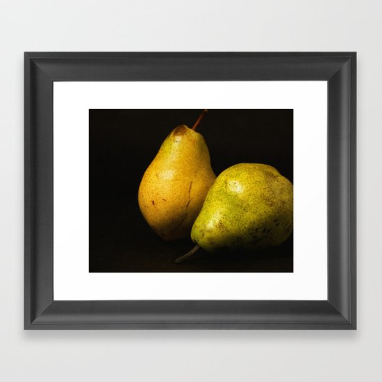 Pears Framed Art Print