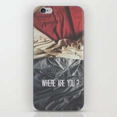 Where are you? iPhone & iPod Skin