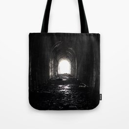 An Abandoned Tunnel Tote Bag