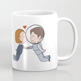 Space Nerds in Love Coffee Mug