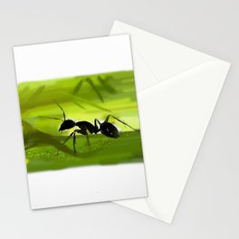 Ant in the green - 138 Stationery Cards