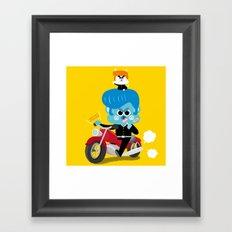 baba yankee Framed Art Print